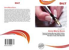Bookcover of Anna Maria Bunn