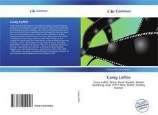 Buchcover von Carey Loftin