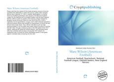 Marc Wilson (American Football) kitap kapağı