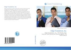 Bookcover of Edge Foundation, Inc.