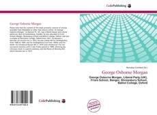 Buchcover von George Osborne Morgan