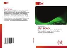 Bookcover of Matt Schaub