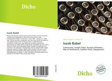 Bookcover of Isaak Babel