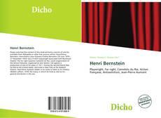 Bookcover of Henri Bernstein