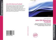 Обложка John Gill (American Football)