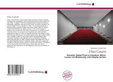 Bookcover of Elias Canetti