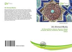 Bookcover of Ali Ahmed Mulla