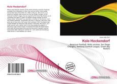 Portada del libro de Kole Heckendorf