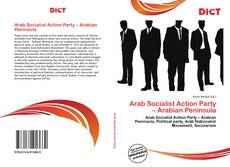Borítókép a  Arab Socialist Action Party – Arabian Peninsula - hoz