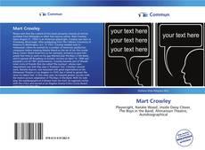 Buchcover von Mart Crowley