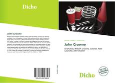 Bookcover of John Crowne