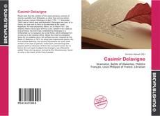 Bookcover of Casimir Delavigne