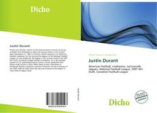 Bookcover of Justin Durant