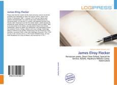 Bookcover of James Elroy Flecker
