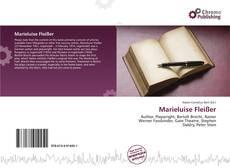 Portada del libro de Marieluise Fleißer
