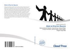 Abd al-Karim Qasim kitap kapağı