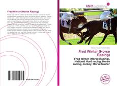 Bookcover of Fred Winter (Horse Racing)