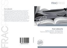 Couverture de Fran Lebowitz