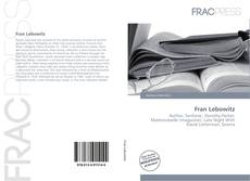 Copertina di Fran Lebowitz