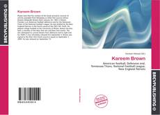 Bookcover of Kareem Brown