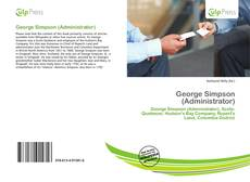 Bookcover of George Simpson (Administrator)