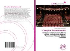 Cineplex Entertainment kitap kapağı