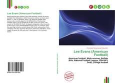 Обложка Lee Evans (American Football)