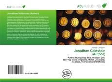Bookcover of Jonathan Goldstein (Author)