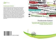 Couverture de Ferdinando Galiani