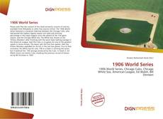 Bookcover of 1906 World Series