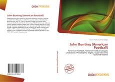 Portada del libro de John Bunting (American Football)