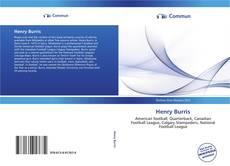 Buchcover von Henry Burris