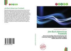 Обложка Jim Burt (American Football)