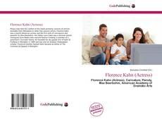 Portada del libro de Florence Kahn (Actress)