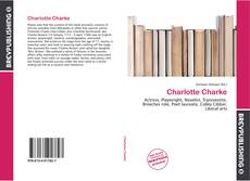 Bookcover of Charlotte Charke