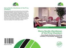Bookcover of Henry Neville (Gentleman of the Privy Chamber)