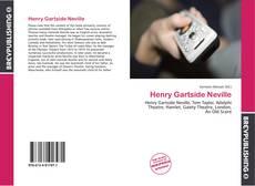 Couverture de Henry Gartside Neville