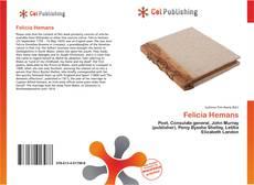 Bookcover of Felicia Hemans