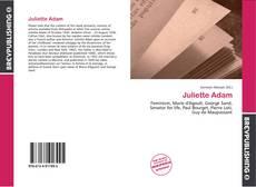 Обложка Juliette Adam
