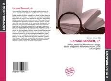 Bookcover of Lerone Bennett, Jr.