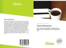 Bookcover of Carla Harryman