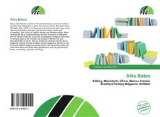 Bookcover of Allie Bates
