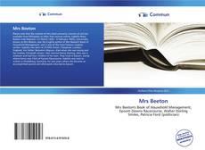 Buchcover von Mrs Beeton