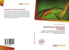 Portada del libro de David Dunn (American Football)