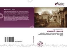 Capa do livro de Alexandre Lenoir