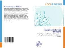 Capa do livro de Marguerite Louise d'Orléans