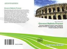 Bookcover of Giovanni Battista Piranesi