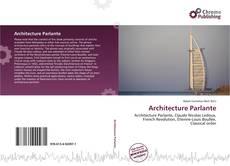 Copertina di Architecture Parlante
