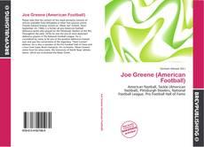Обложка Joe Greene (American Football)