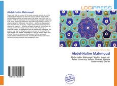 Bookcover of Abdel-Halim Mahmoud